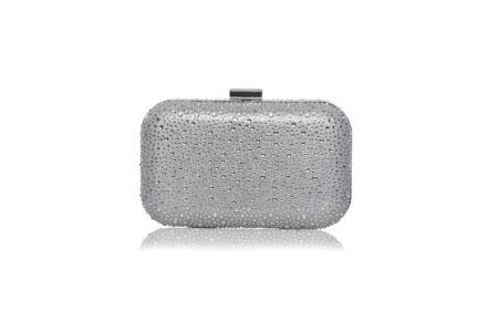 Pochette grise métal